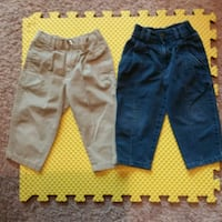 2T Boys Pants with Zippers and Snaps-Various Brand Westminster, 80031