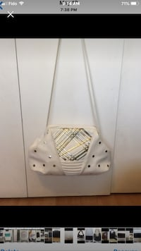White Leather Purse Toronto, M4A 1T7