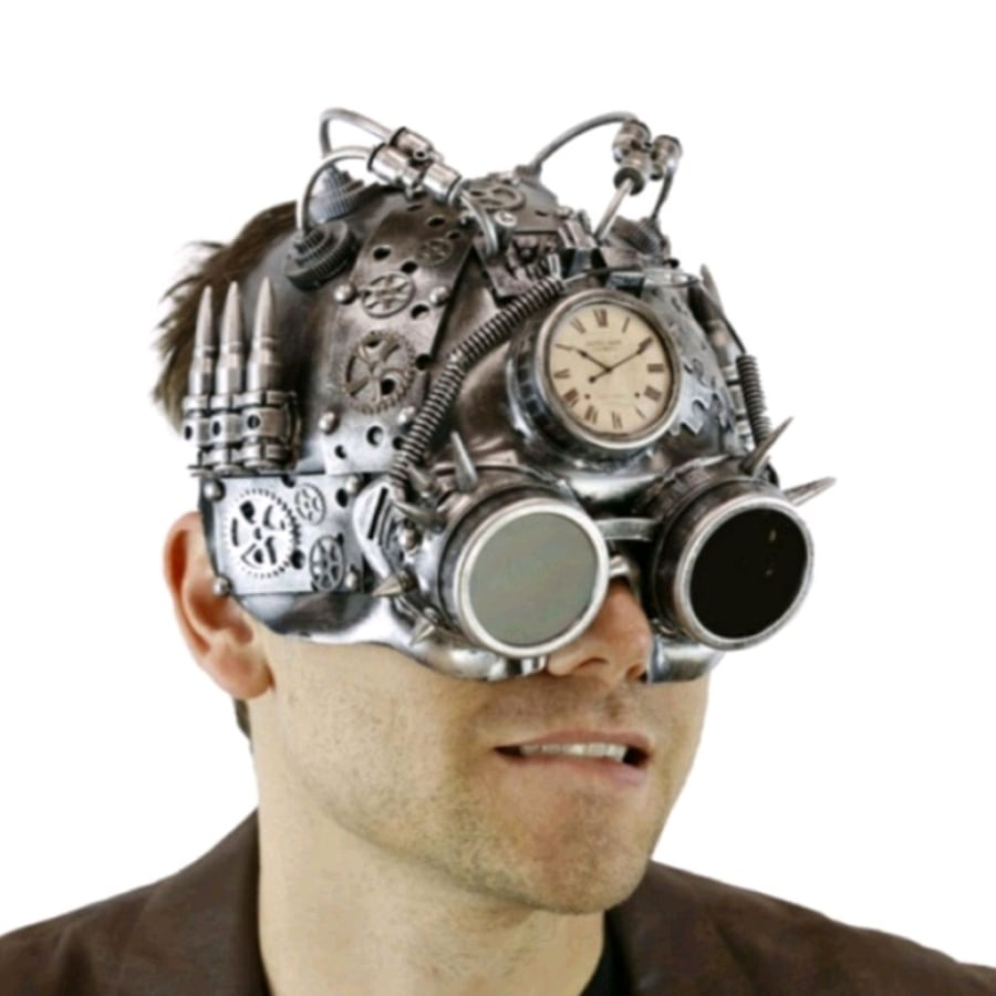 Awesome Retro Steampunk Mask M39344S