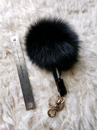 Fox Fur 3 in 1 Charging Cable Keychain