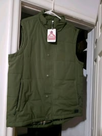ROOTS Men's Vest (Colour: Olive Green) Toronto, M1R 1C9