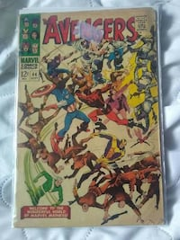 Avengers issue 44, 45 and 46