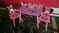 pink Minnie table with chair Colorado Springs