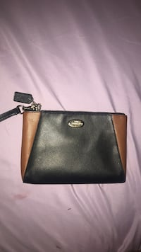 black and brown leather wristlet Cathedral City, 92234
