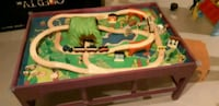 Train set with table Whitchurch-Stouffville, L4A 0B7