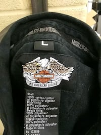 black and white Harley-Davidson Motorcycle cap Fort Collins, 80525