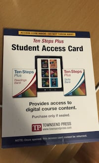 Book student access card