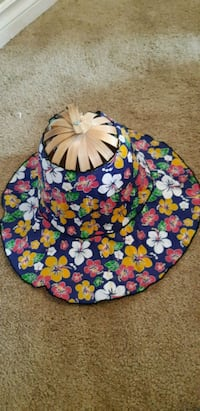 Beautiful foldable summer hat