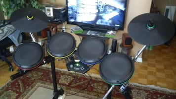 Xbox ION Drum Rocker Set + Icon rock throne