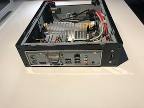 Jetway miniITX case, motherboard (As is)