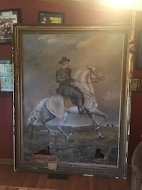 6ft painting of Confederate General Robert E. Lee Eagleville, 37060
