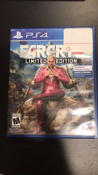 PS4 Far Cry 4 game case New Milford, 07646