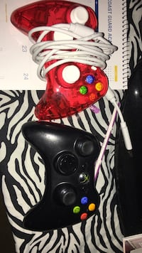 Black and red xbox 360 controller Panama City, 32408