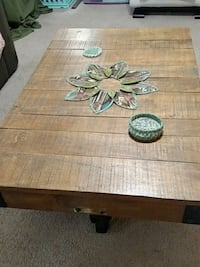 brown wooden table with four chairs Fayetteville, 72703