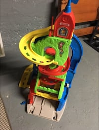 yellow, green, red and blue plastic castle toy Pawtucket, 02861