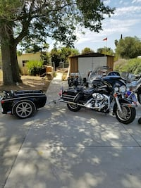 black touring motorcycle Yucaipa, 92399