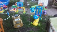 toddler's assorted plastic toys Omaha, 68105