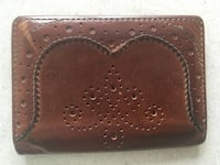 Authentic Poul Smith card holder wallet.genuine leather. Made in Italy Bolton, L7E 2J7