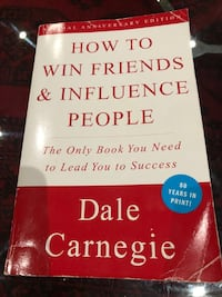 Book how to win friends and influence people Whitby, L1N 8X6