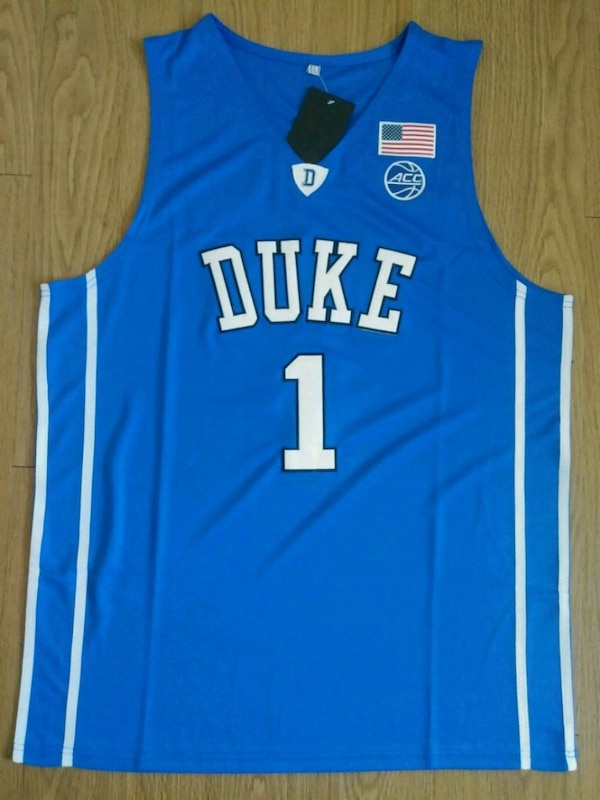 premium selection 4ebf4 5e8e4 MENS ZION WILLIAMSON DUKE JERSEY L