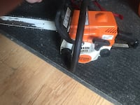 Stihl ms180c chainsaw