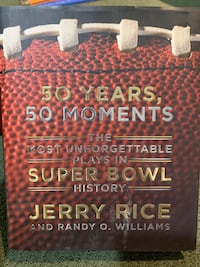 The Unforgettable Plays in Super Bowl History. Jerry Rice Book