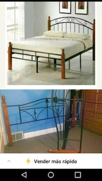 Full size bed frame 34 km
