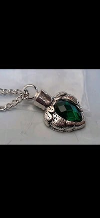 Green Angle Wings URN Pendent w Neckace Pet Ashes Manchester, 03103