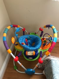 baby's multicolored jumperoo Vienna, 22182