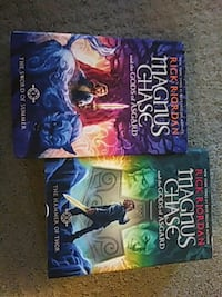 Magnus Chase and the gods of Asgard book 1 and 2