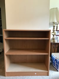 brown wooden 3-layer shelf Burnaby, V5E 1H7