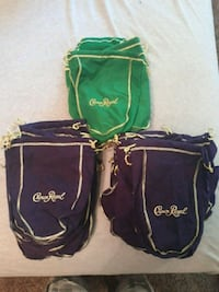 Crown Royal bags West Des Moines, 50265