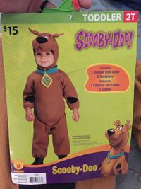Brand new in the package 2T scooby doo costume  Melbourne, 32940