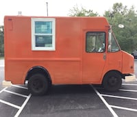 """1997 GMC """"Tangerine Machine"""" Food truck with Low Mileage & Fully Equipped Laurel"""