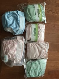 Cloth diapers - new