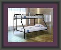 Full twin bunkbed frame
