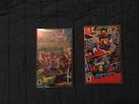 Mario Odyssey & Collection of Mana