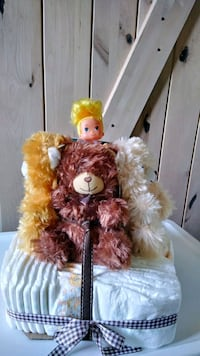 Goldie and 3 bears diaper cake Sterling, 20164