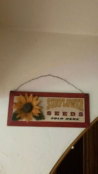 Sunflower wall decor Alva, 33920