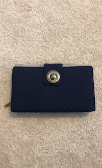 LIKE NEW: navy blue wallet for budgeting Herndon, 20171