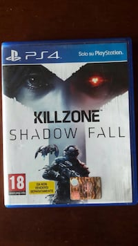 PS4 Killzone Shadow Fall case Catania, 95122