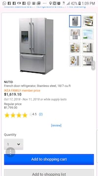 gray and black french door refrigerator screenshot Temple Hills, 20748
