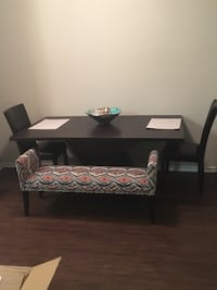 Dark wood dining table Austin, 78746
