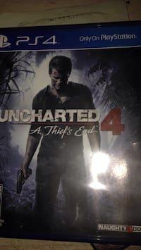 Great condition PS4 game uncharted 4 barley used Westminster, 21158