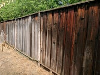 Fence restore, dont buy a new fence, restore it! Esparto, 95627