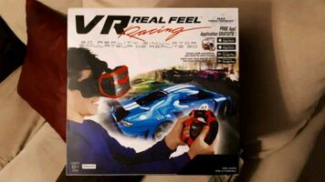 VR Real Feel Racing Game / Toy