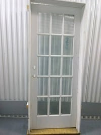 "15 LITE CLEAR PREHUNG DOOR (32"")"