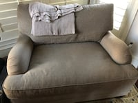 Oversized Chair - tan or taupe color Spring, 77373