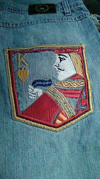 jeans shorts king of hearts Manchester