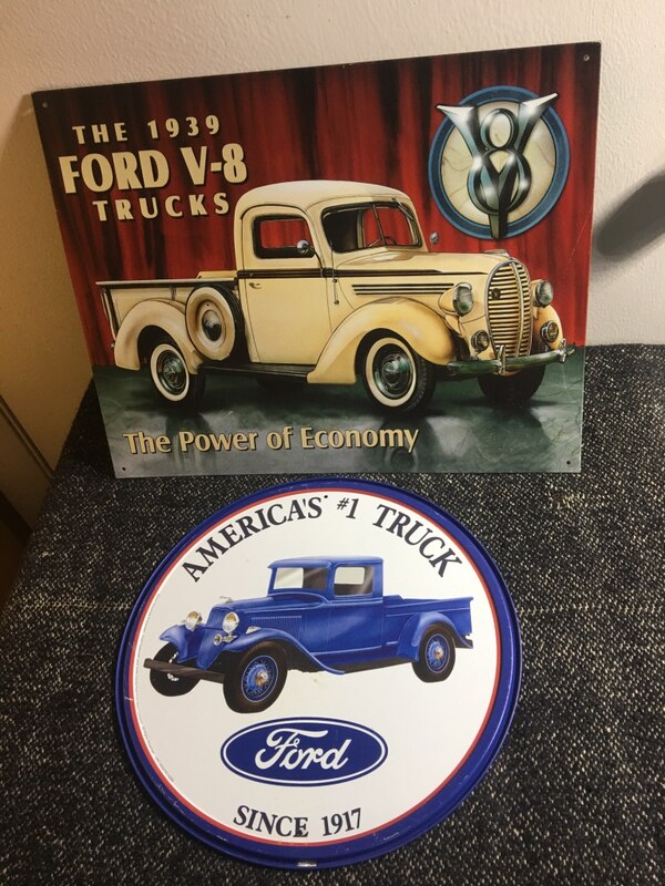 12x16 Vintage Tun Signs -FORD, ROUTE 66, HOT ROD- adf65250-9321-47fc-9b36-e2f4826e1bfb